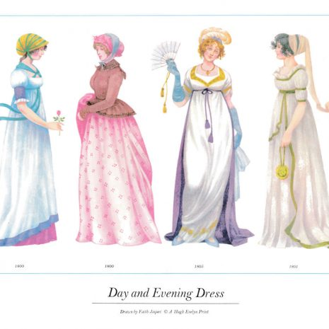 01 Day and Evening Dress 1800-1805