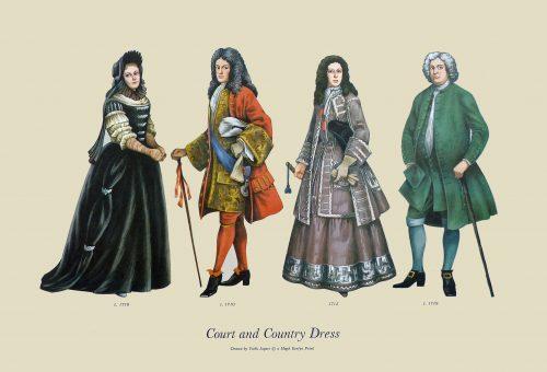 History of Costume 1660-1800