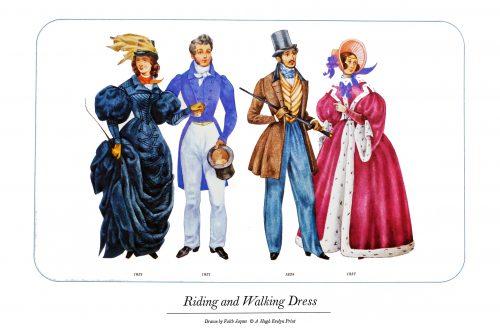 History of Costume 1800-1899