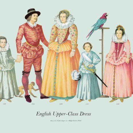 10 English Upper-Class Dress 1596-1598