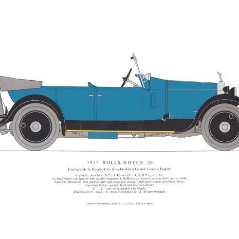 AB06 1927 Rolls Royce 20