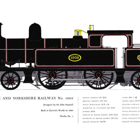 AC05 Lancashire & Yorkshire Railway No. 1008