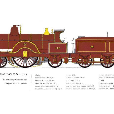 AC09 Midland Railway No. 118