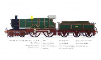 Locomotive Prints I