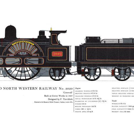 AC11 London and North Western Railway No. 3020