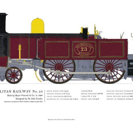 AC12 Metropolitan Railway No. 23