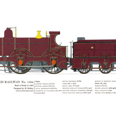 AC13 Midland Railway No. 158a