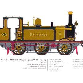 London, Brighton & South Coast Railway, 1880