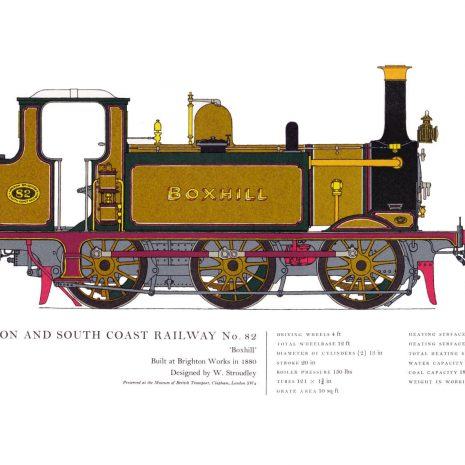 AC14 London Brighton and South Coast Railway No. 82