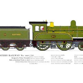 North Eastern Railway, 1893