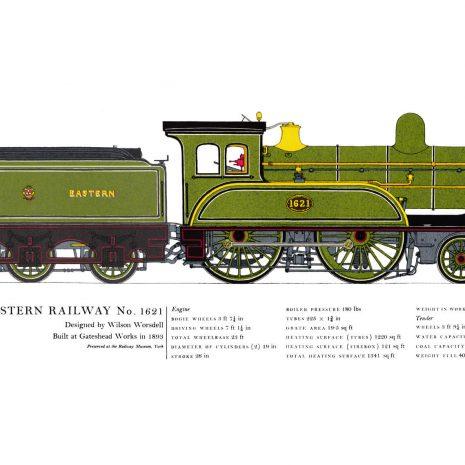 AC17 North Eastern Railway No. 1621