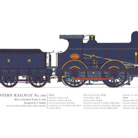 AC18 Great Eastern Railway No. 490