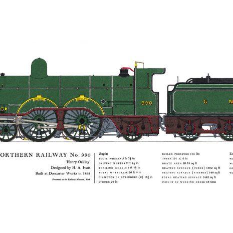 AC19 Great Northern Raileay No. 990