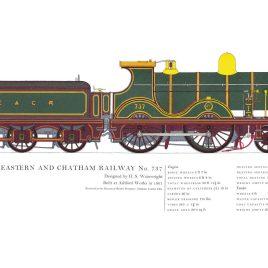 South Eastern & Chatham Railway, 1901