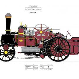 """Fowler's """"Wayfarer"""", 1920 (No 15563)"""