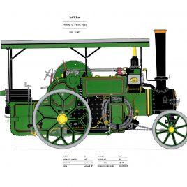 """Aveling & Porter's """"LAURA"""", 1927 (No 11997)"""