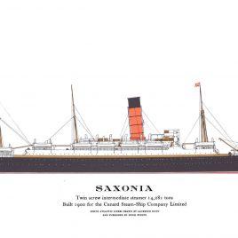 R.M.S. Saxonia, 1900