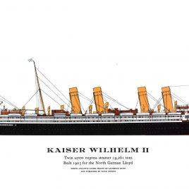 S.S. Kaiser Wilhelm II, 1903