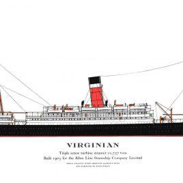 R.M.S. Virginian, 1905
