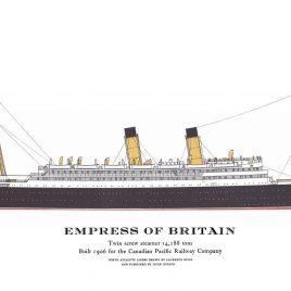 R.M.S. Empress of Britain, 1906