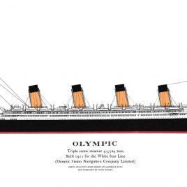 R.M.S. Olympic, 1911