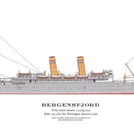 S.S. Bergensfjord, 1913