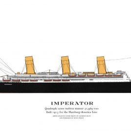 S.S. Imperator, 1913