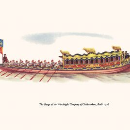 Barge of the Worshipful Company of Clothworkers, 1656