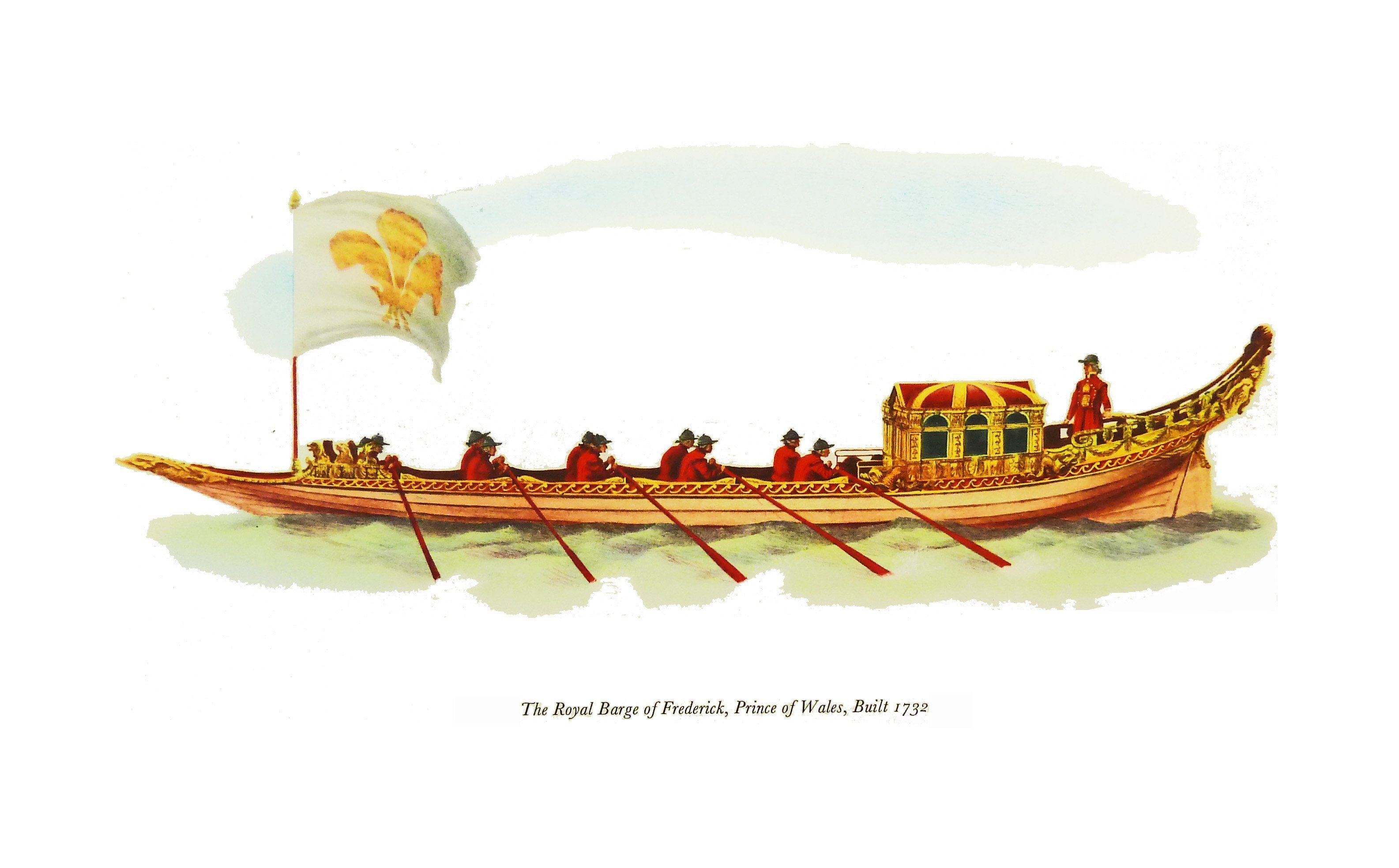 AG05 Royal Barge of Frederick, Prince of Wales