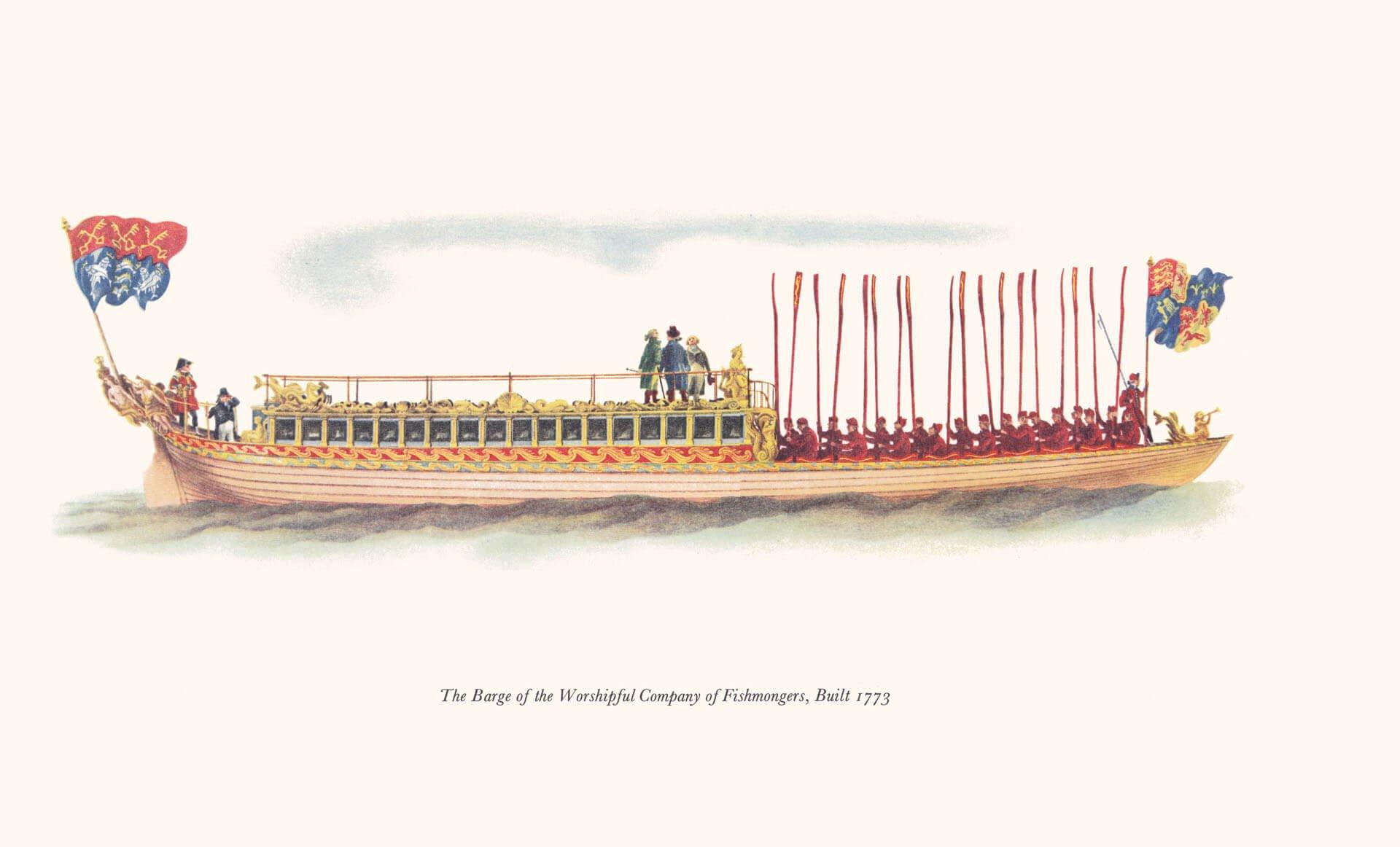 AG06 Fishmonger's Company Barge
