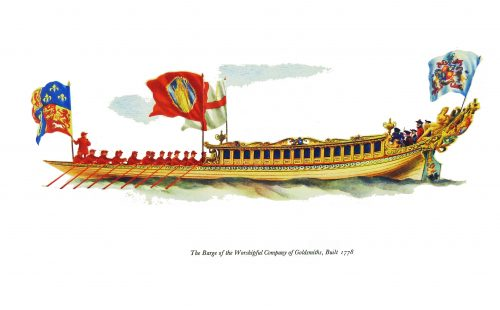 State Barges on the Thames 1656-1807