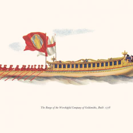 AG07 Goldsmiths' Company Barge