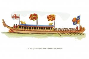 AG08 Merchant Taylors' Company Barge