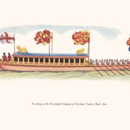 Barge of the Merchant Taylors' Company, 1800