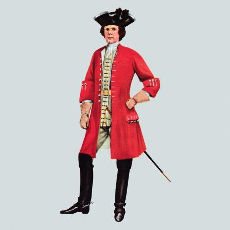 AH02 Captain, King's Regiment of Horse, 1722