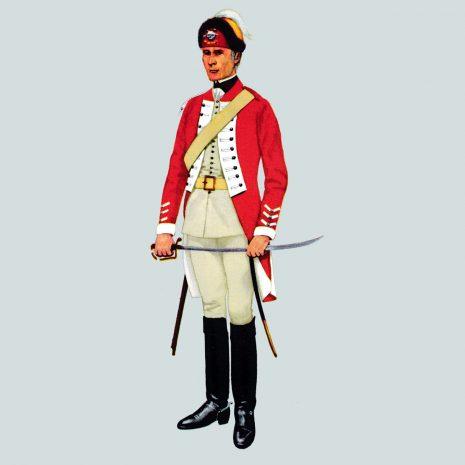 AH03 Trooper, 17th Light Dragoons 1759