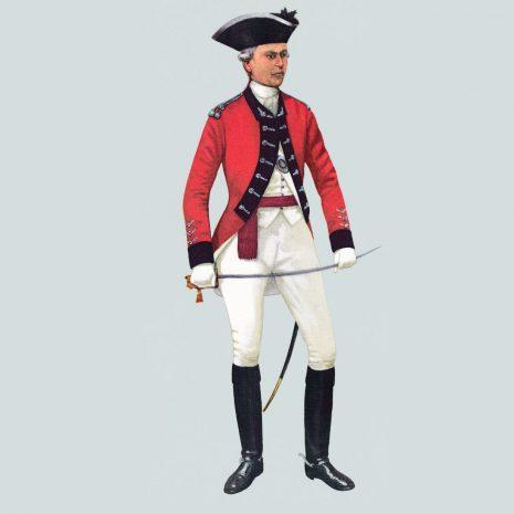 AH04 Captain, 16th Light Dragoons, 1768