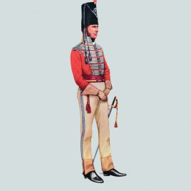 Captain, 6th Dragoons, 1811 (5th Inniskilling Dragoon Guards)