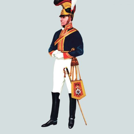 AH09 Captain, Royal Horse Guards, 1813