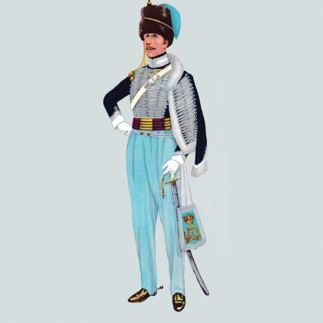 AH11 Captain, 18th Hussars, 1815