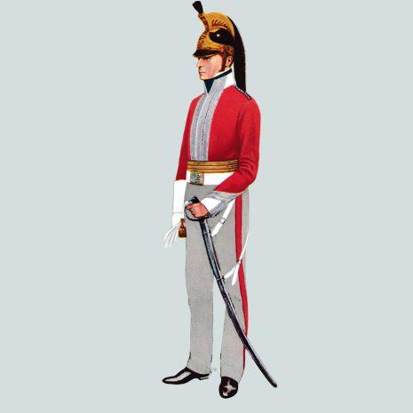 AH12 Major, 6th Dragoon Guards, 1818