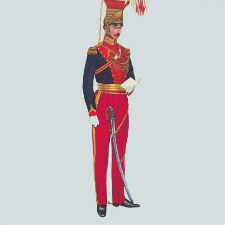 AH13 Offcer, 12th Lancers, 1820