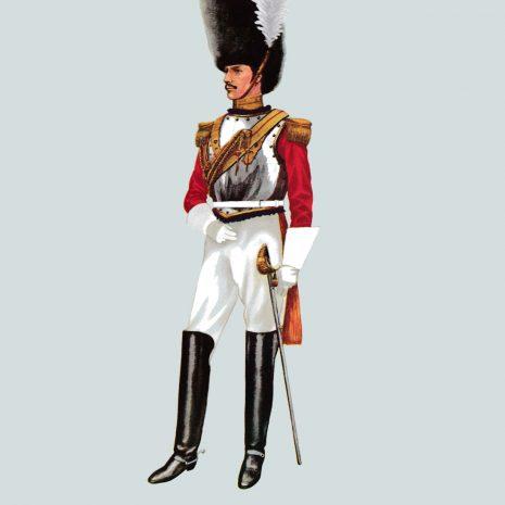 AH14 Captain, 1st Life Guards, 1830