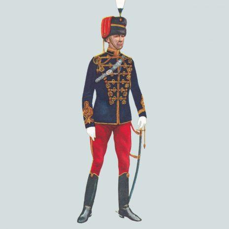 AH17 Captain, 10th Royal Hussars, 1914
