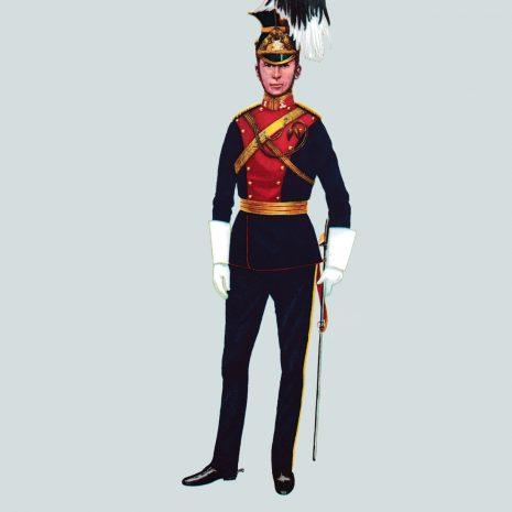 AH19 Captain, 9th Queen's Royal Lancers