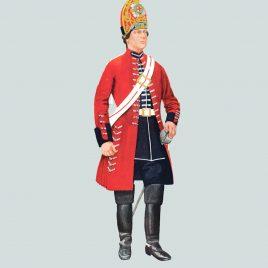 Trooper, Royal North British Dragoons (Scots Greys), 1743