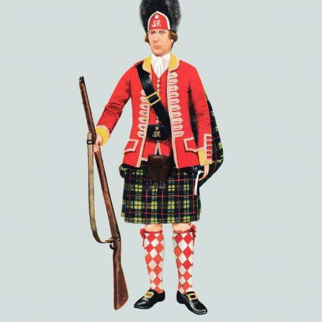 AN03 Grenadier, 42nd Regiment, 1751