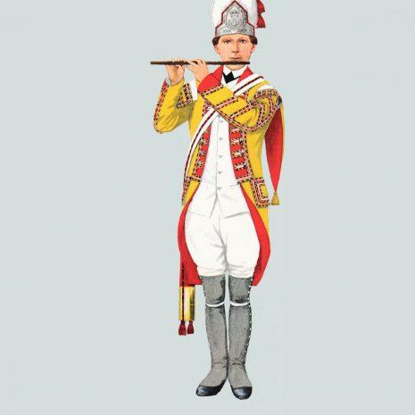 AN04 Fifer, 25th Regiment, 1770