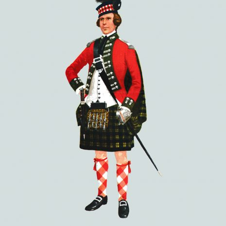 AN05 Officer, 77th Montgomery, 1763