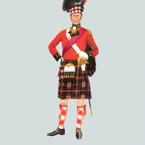 AN07 Officer, 79th Regiment Camerons, 1814